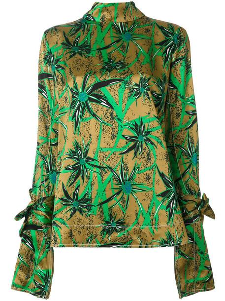 MARNI blouse women floral print top