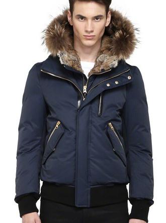 coat mackage fur coat