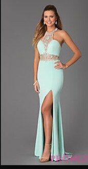 dress,long prom dress,coat,shorts,ball gown dress,long dress,sleeveless dress,sleeveless,halter dress,beaded,beaded dress,floor length dress,jewel dress,sparkly dress,mint dress,turquoise,turquoise dress,prom dress,evening dress,long evening dress
