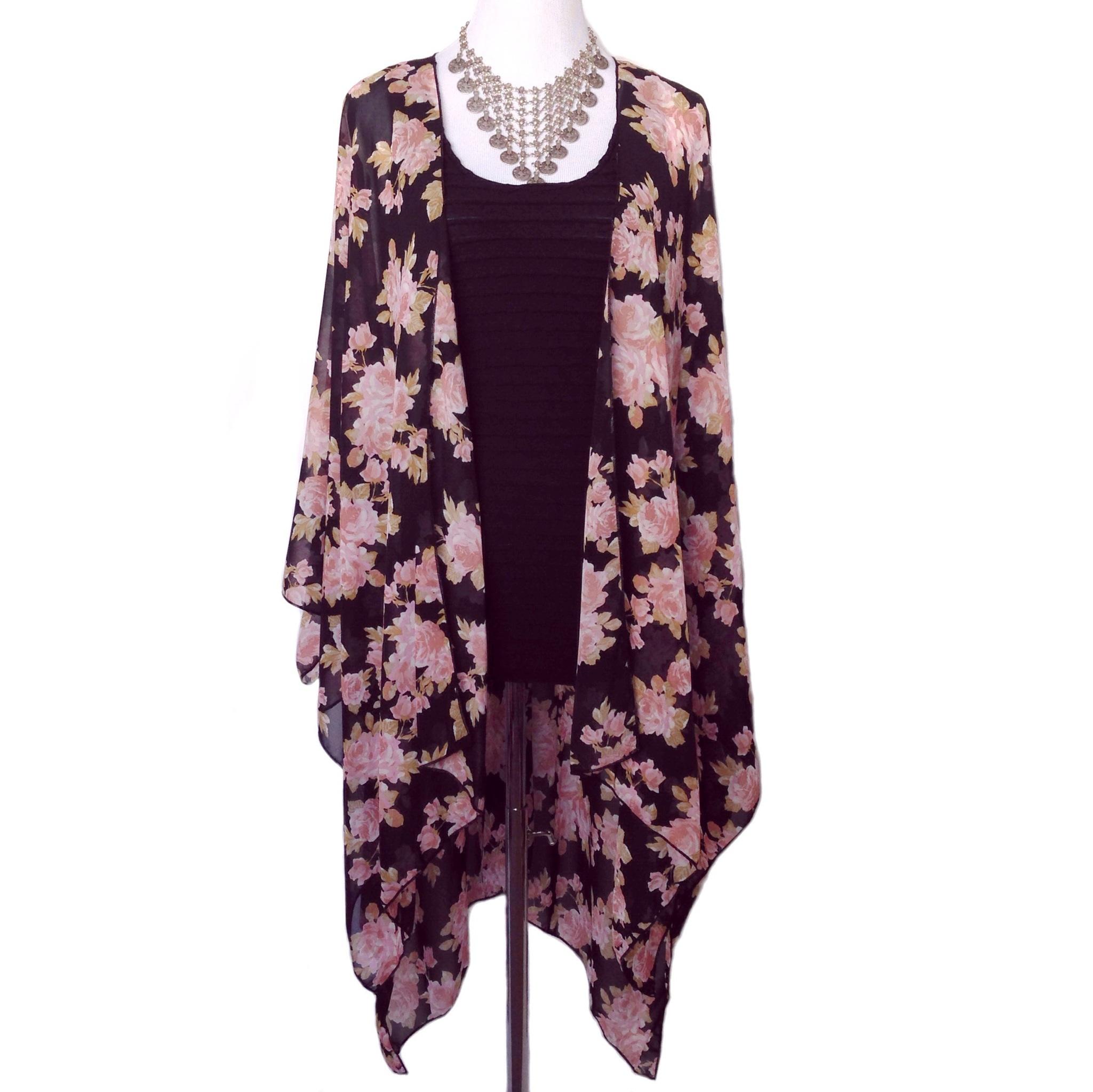 Rosey kimono