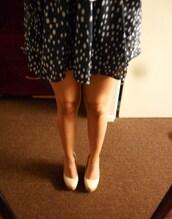skirt,vintage,polka dots