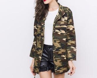 jacket camouflage camo jacket camouflage coat
