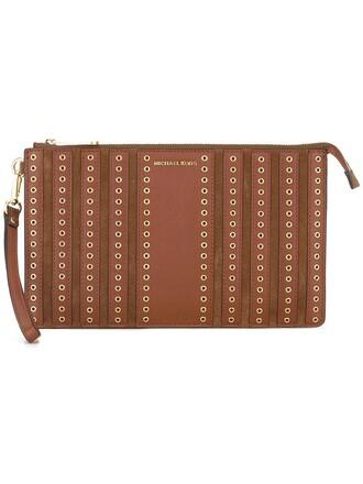 women brooklyn pouch brown bag