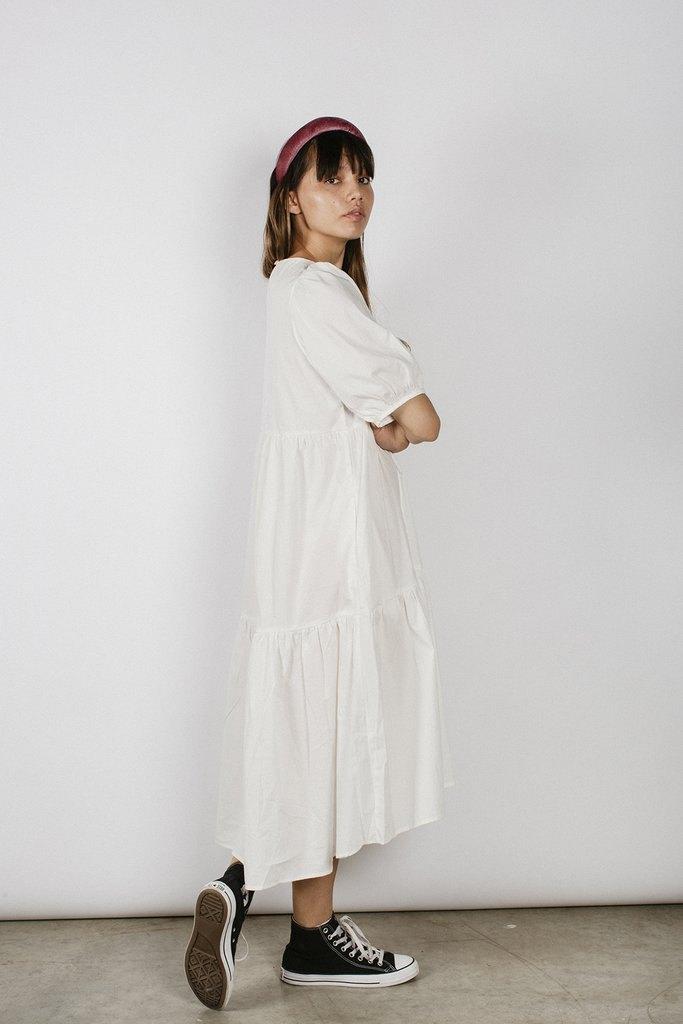 DARLA DRESS - WHITE