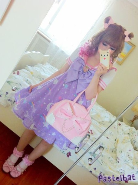 dress kawaii pastel