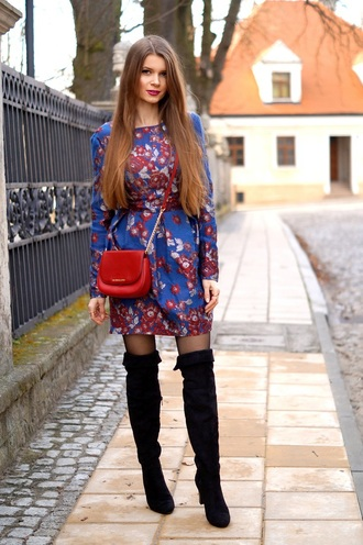 only my fashion style blogger dress bag shoes