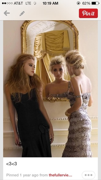 prom dress long prom dresses ashley olsen mary kate olsen prom