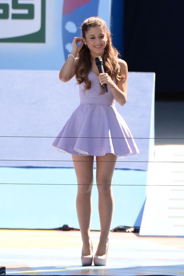 dress ariana grande purple dress cute dress shoes lavender dress ariana grande dress