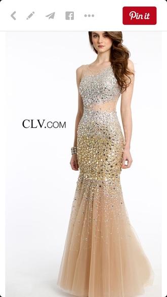 dress prom rhinestone dress prom dress tulle skirt sheer
