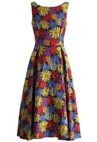 dress world of sunflowers jacquard prom dress chicwish prom dress jacquard dress