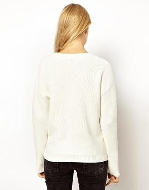 ASOS | ASOS Jumper With Side Zip Detail at ASOS