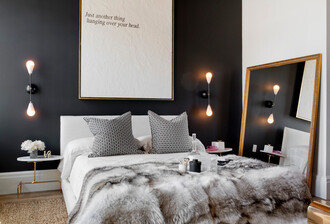 home accessory fur throw grey home decor luxury bedroom furblanket designer blanket classy cozy