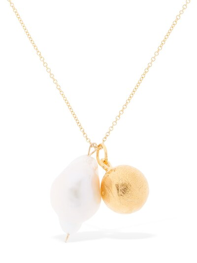 ALIGHIERI The Remedy Chapter  W/ Pearl Necklace Gold