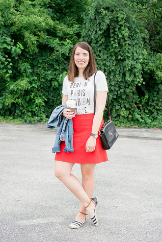 styleontarget blogger jacket t-shirt jewels bag