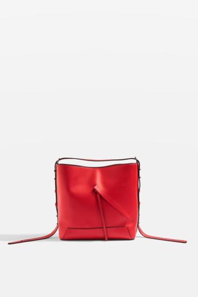 Topshop bag red