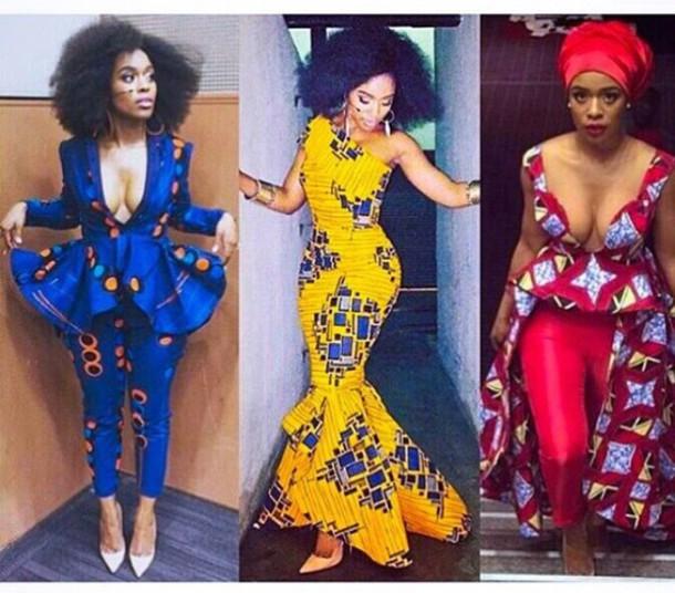 dress african american african print