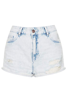 MOTO Extracted Hallie Shorts - Shorts  - Clothing  - Topshop
