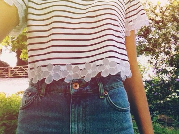 blouse striped shirt