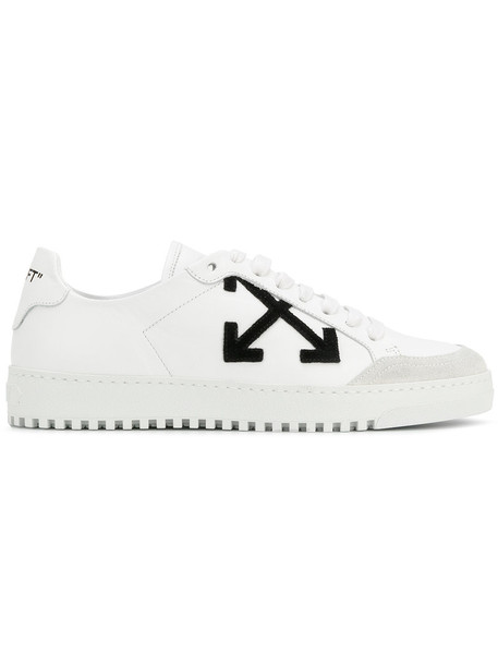 Off-White women sneakers leather white shoes