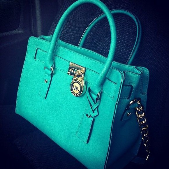 teal bag candy color