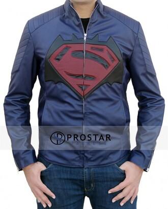 jacket fashion dawn of justice batman superman fashion toast