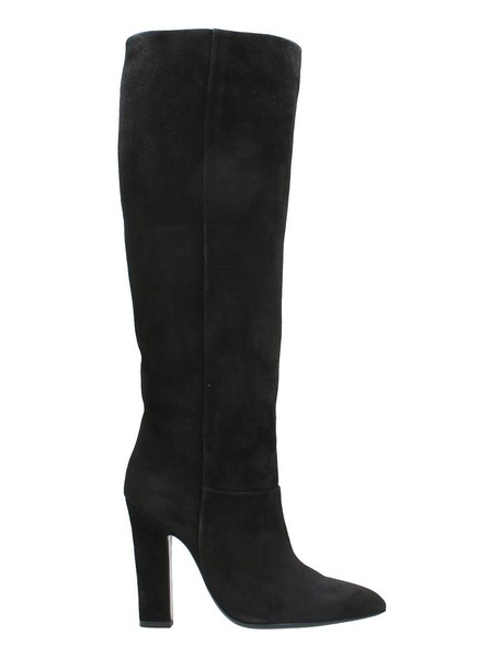 Dei Mille suede boots suede black shoes