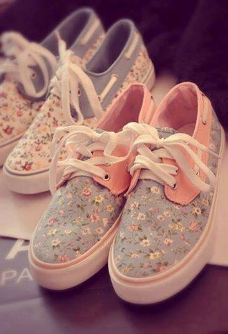 shoes flowers liberty pink cute shoes