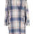 Pale Check V Front Coat - Jackets & Coats  - Clothing  - Topshop
