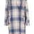 Pale Check V Front Coat - Jackets & Coats  - Clothing  - Topshop