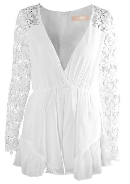 Penelope Lace Romper   Outfit Made