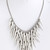 Rebel Clustered Spike Statement Necklace