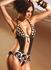 Plunge Cutout Monokini Swimsuit - Jolidon Designer Swimwear