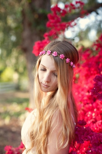 floral headband headband flower crown floral crown floral hair accessories hairstyles accessories hipster wedding
