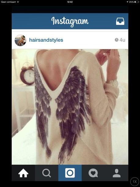 shirt wings