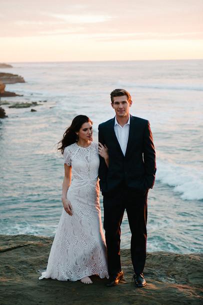 ruffled blog, blogger, wedding dress, lace wedding dress ... Ruffled Blog