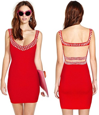 dress dream it wear it clothes red red dress cut-out cut-out dress open back open back dresses backless backless dress jewels embellished v neck v neck dress bodycon bodycon dress bandage bandage dress party party dress sexy party dresses sexy sexy dress party outfits summer summer dress summer outfits spring spring dress spring outfits fall dress fall outfits winter dress winter outfits holiday dress holiday season classy classy dress elegant elegant dress cocktail cocktail dress date outfit girly