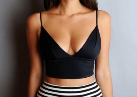 Alluring black crop top · fashion struck · online store powered by storenvy