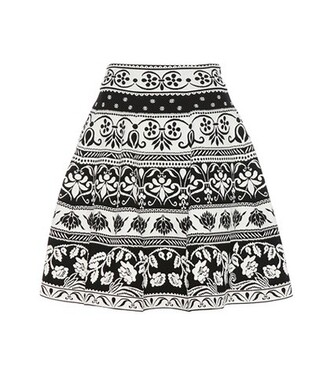 skirt jacquard black
