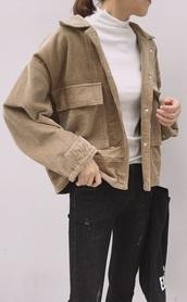 jacket,girly,girl,girly wishlist,corduroy,tumblr,tumblr outfit,cute