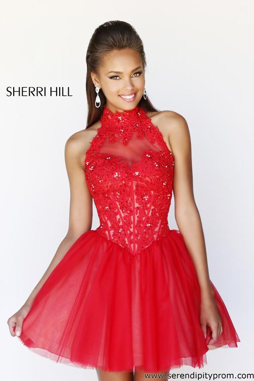 f316bf12d2f Serendipity Prom -Sherri Hill 21193 cocktail dress - Sherri Hill Fall 2013  - sherrihill21193