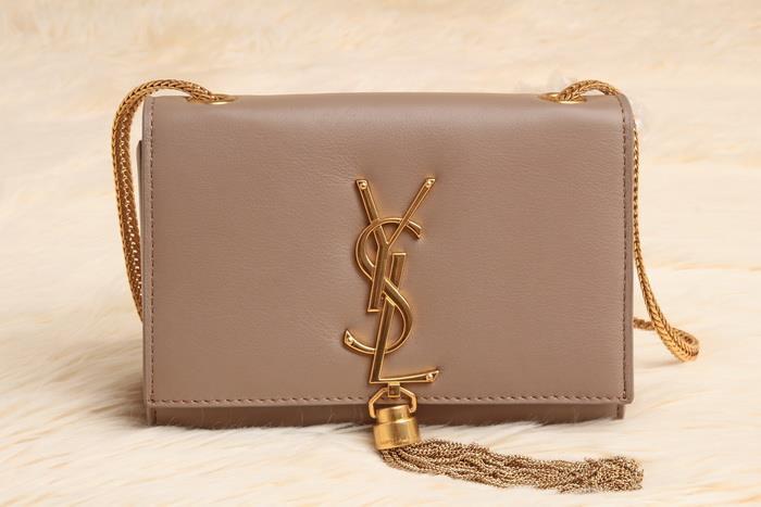 new ysl handbags - ysl nude beige tassel bag [710898 nude beige gold] - $263.50 USD ...