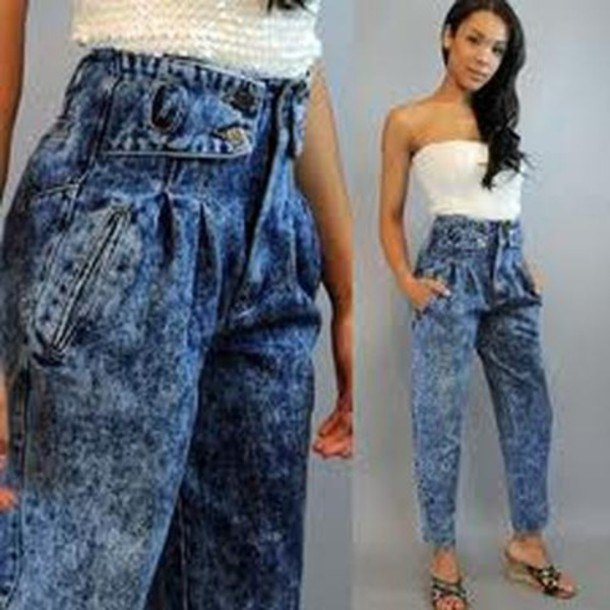 jeans vintage high waisted jeans