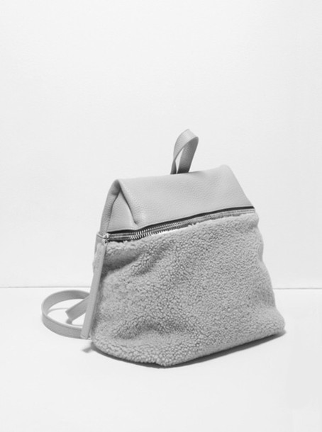 bag grey grey bag small cute