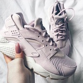 shoes,grey,suede,nike huarece,nike,lilac,suede sneakers,nike sneakers,pastel sneakers,nike haurache,grey sneakers,huarache,air huf,pink,nike shoes