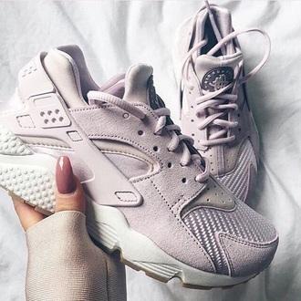 shoes grey suede nike huarece nike lilac suede sneakers nike sneakers pastel sneakers nike haurache grey sneakers huarache air huf pink nike shoes