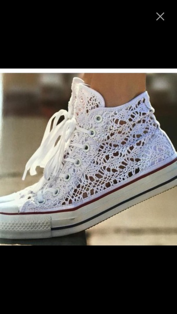 Shoes Converse All Star Ct Hi Specialty Crochet 549308c