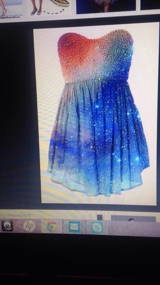 dress galaxy dress homecoming dress short dress bustier dress