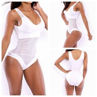 swimwear mesh bodysuit bodysuit