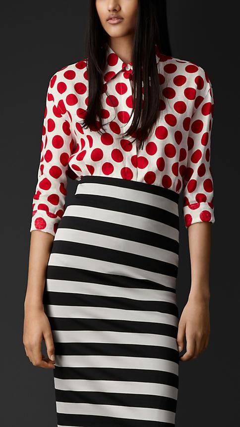 Dotted Linen Shirt | Burberry