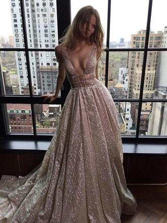 dress gown silver dress prom dress sparkly dress
